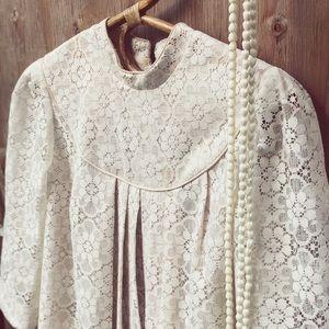 bohemian style vintage muumuu dress